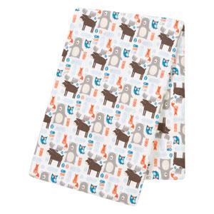 Scandi Forest Jumbo Deluxe Flannel Swaddle Blanket