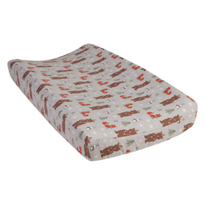 Cup of Cocoa Deluxe Flannel Changing Pad Cover