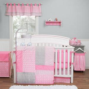 Lily Three-Piece Crib Bedding Set