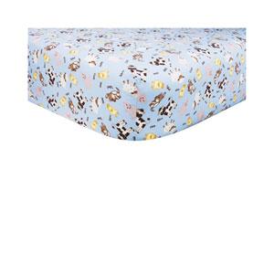 Baby Barnyard Fitted Crib Sheet