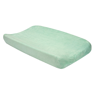 Cocoa Mint Green Changing Pad Cover