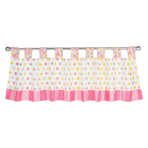 Dr. Seuss Oh, the Places Youll Go! Pink Window Valance