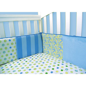 Dr. Seuss Oh The Places Youll Go Blue Crib Bumpers