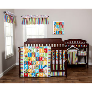 Dr. Seuss Alphabet Seuss Three-Piece Crib Bedding Set