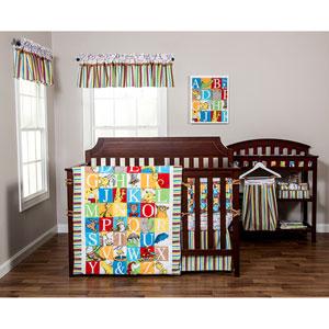 Dr. Seuss Alphabet Seuss Three-Piece Crib Bedding Set