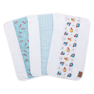 Dr. Seuss Cat in the Hat Jumbo Burp Cloth, Set of Three