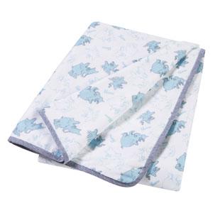 Dr. Seuss Horton Luxe Muslin Blanket