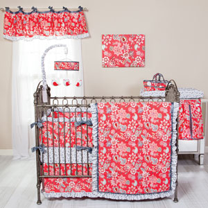 Waverly Charismatic Three-Piece Crib Bedding Set