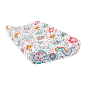 Waverly Pom Pom Play Plush Changing Pad Cover