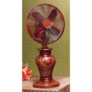Sofea Brown 11-Inch Table Fan