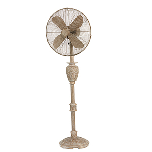 Muriel White 17-Inch Floor Fan