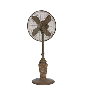 Cantalonia Brown 19-Inch Outdoor Fan