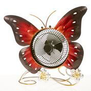 Butterfly Red 14-Inch USB Fan