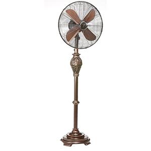 Lafayette Black 17-Inch Floor Fan