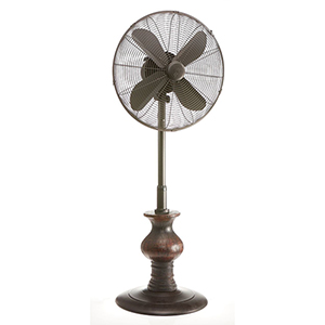 Austin Black 19-Inch Outdoor Fan