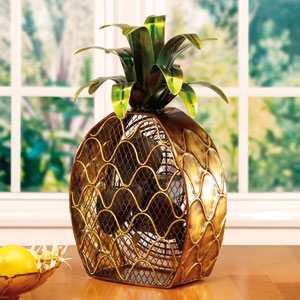 Copper Figurine Fan Pineapple