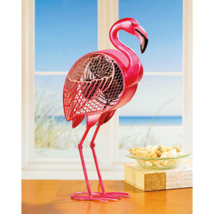 Pink Figurine Fan Flamingo