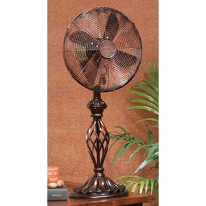 Prestige - Rustica Twelve-Inch Tabletop Fan