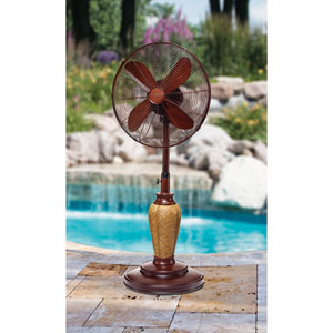 Multi Colored 18 Inch Outdoor Fan Kailua