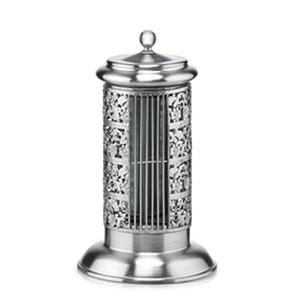Bellevue Silver Satin Chrome Tower Fan