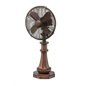 Coronado Brown Table Fan