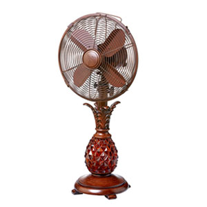 Makani Red Table Fan