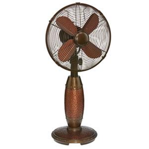 Rhythm Brown 10-Inch Table Fan