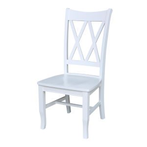 Double XX White Chair, Set of Two