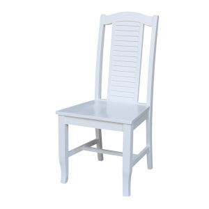 Seaside White Chair, Set of Two