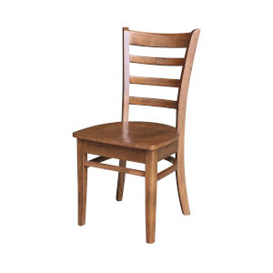Emily Distressed Oak Side Chair, Set of 2