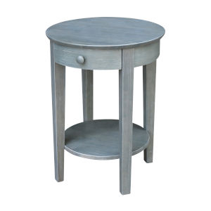 Phillips  Heather Grey 21-Inch  Accent Table with Drawer