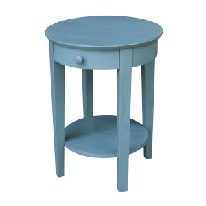 Phillips  Ocean blue 21-Inch  Accent Table with Drawer