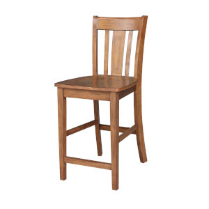 San Remo Distressed Oak Counter Stool
