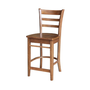 Emily Distressed Oak Counter Stool