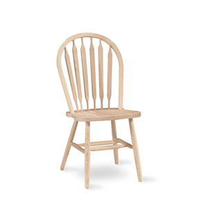 37-Inch Arrowback Chair