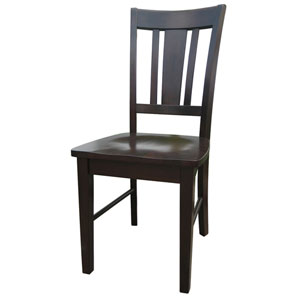 Dining Essentials Java Set of Two San Remo Splatback Chairs
