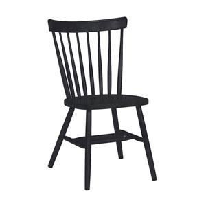 Black 35-Inch Copenhagen Chair
