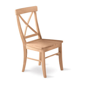Pair of X-Back Chairs