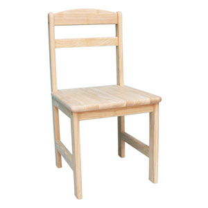 Unfinished Juvenile Chair, Set Of Two