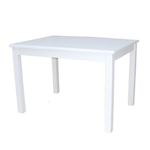 Juvenile Linen White Mission Juvenile Table