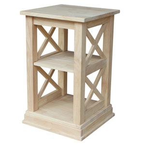 International Concepts Hampton Sofa Table With Shelves Ot