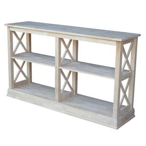 Hampton Sofa Table with Shelves