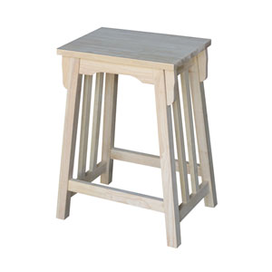 Mission 24-Inch Counter Height Stool
