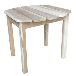 Adirondack Unfinished Sidetable
