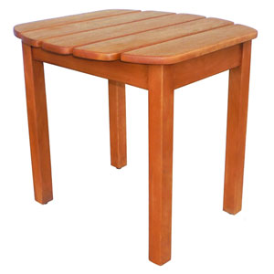 Oiled 18.2-Inch Side Table