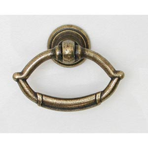 Antique Single Hole Ring Pull