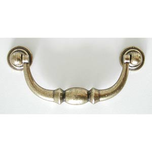 Antique Brass Drop Pull