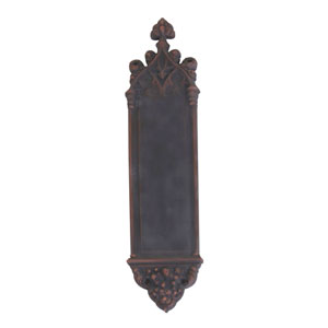 Gothic Venetian Bronze 16-Inch Push Plate