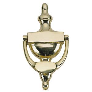 Traditional Venetian Bronze 8-Inch Door Knocker