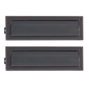 Traditional Venetian Bronze 3.5-Inch x 13-Inch Mail Slot